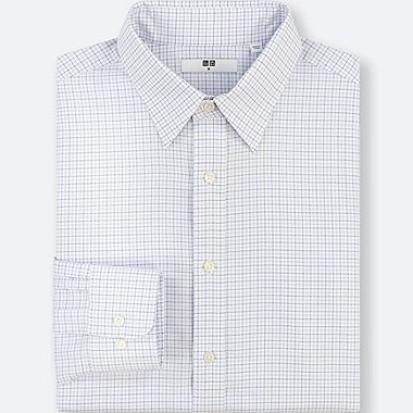 MEN BROADCLOTH EASY CARE CHECKED REGULAR FIT SHIRT