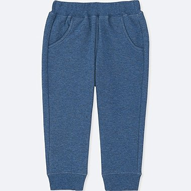 TODDLER PILE-LINED SWEATPANTS, BLUE, medium