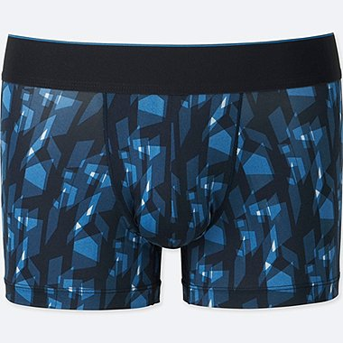 MEN AIRism SPRZ NY LOW-RISE BOXER BRIEFS (NIKO LUOMA), BLUE, medium