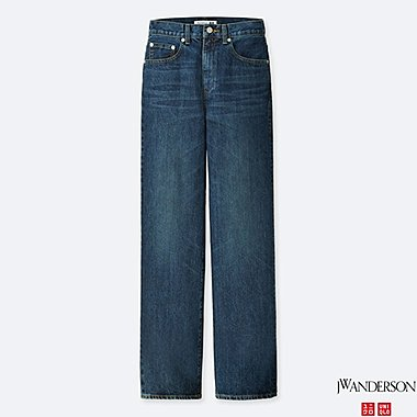 WOMEN J.W.ANDERSON HIGH RISE STRAIGHT JEANS