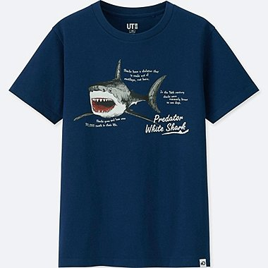 KIDS Discovery Channel SHORT-SLEEVE GRAPHIC T-SHIRT, BLUE, medium