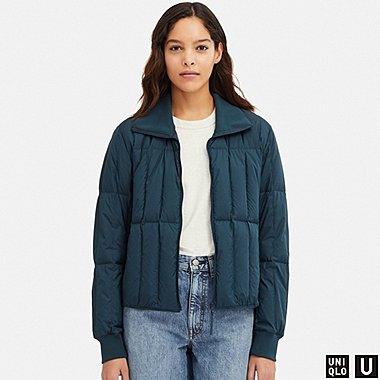 WOMEN UNIQLO U ULTRA LIGHT DOWN JACKET
