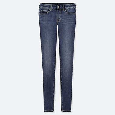 WOMEN ULTRA STRETCH JEANS (EXTENDED LENGTH) (ONLINE EXCLUSIVE), BLUE, medium