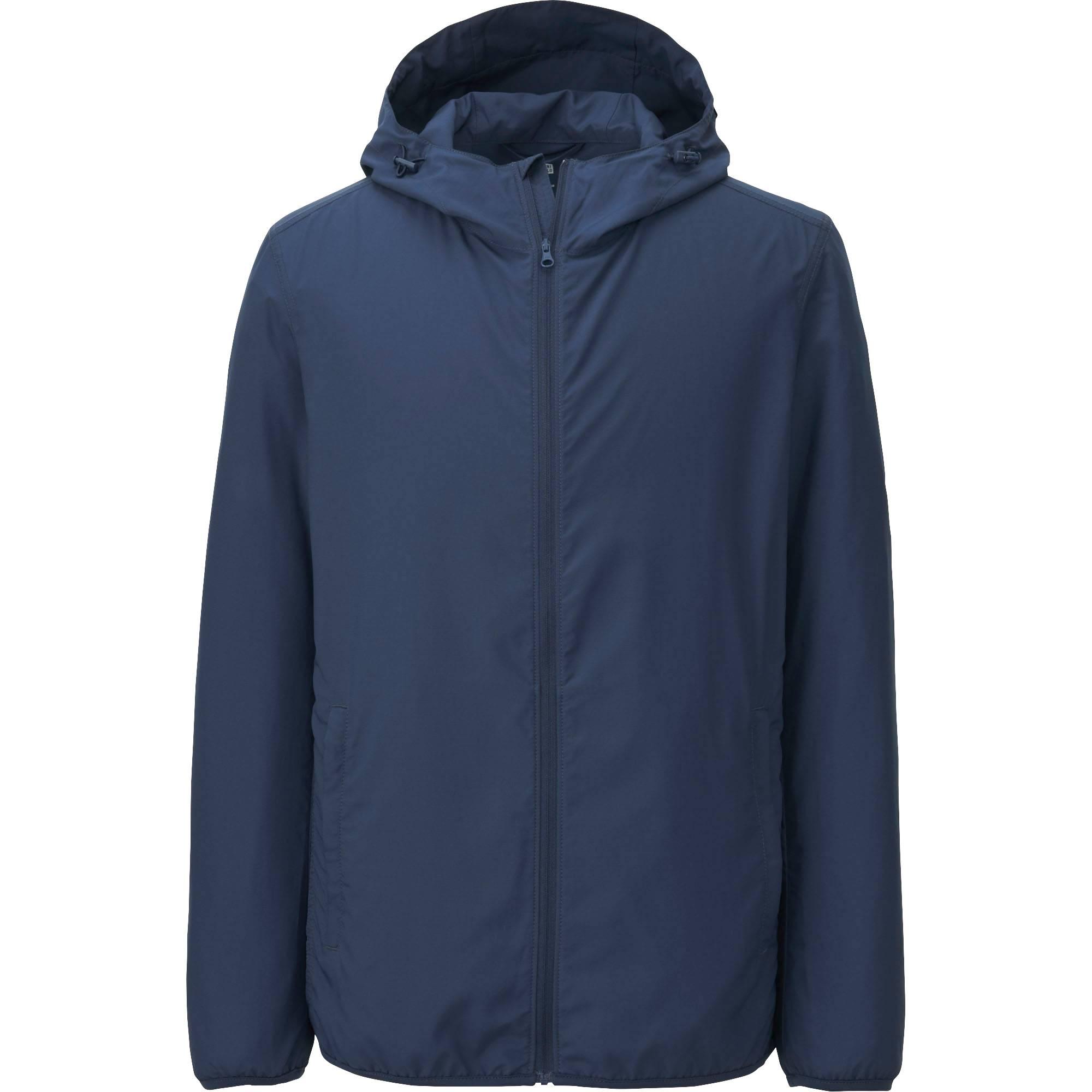 Blue Hooded Jacket MNZ9NY