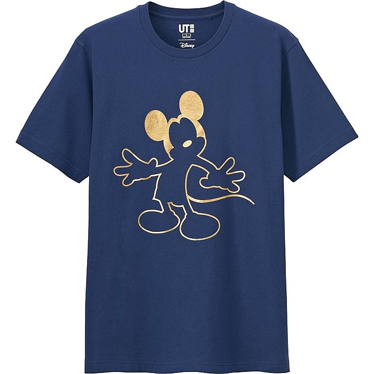 Men Disney Project Chinese New Year Graphic T-Shirt, BLUE, large