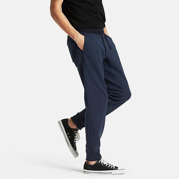 Men Sweatpants, BLUE, large