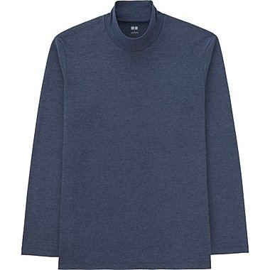 T-Shirt Extra Doux Col Montant HOMME