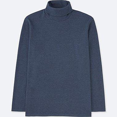HERREN Langarmshirt Rollkragen Soft-Touch
