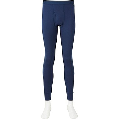MEN HEATTECH EXTRA WARM TIGHTS, BLUE, medium