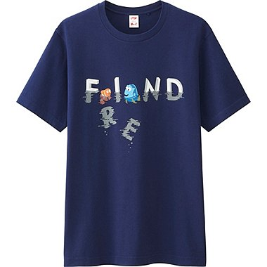 Mens UTGP Pixar Graphic Tee, BLUE, medium
