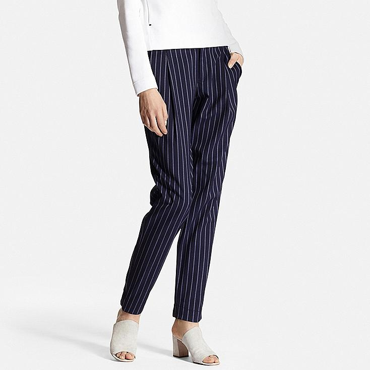 Lastest UNIQLO Continues To Make Life Better As It Introduces The Highlight Of 2016 SpringSummer Bottoms Collection, Gaucho Pants For Women And Mens Jogger Pants Gaucho Pants Feature Distinctive Wide Cuffs That Create A Modern, Trendy
