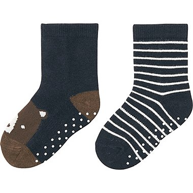 BABY SOCKS 2P, BLUE, medium