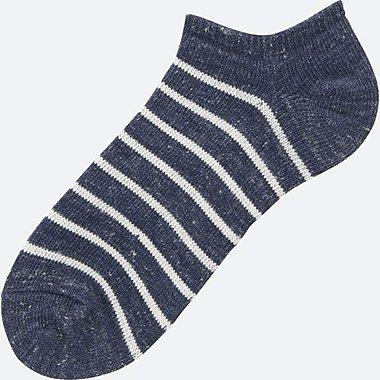 MEN Melange Striped Short Socks