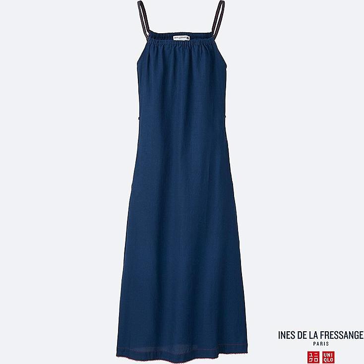 WOMEN INES Indigo Slip Dress