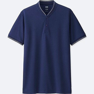 MEN DRY EX SHORT SLEEVE POLO SHIRT, BLUE, medium