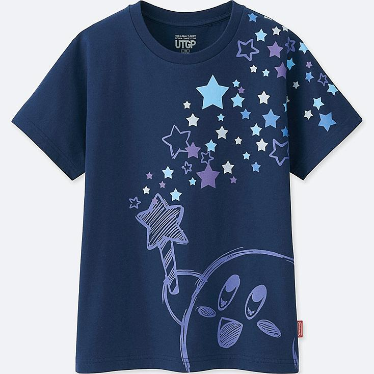 KIDS UTGP (NINTENDO) SHORT-SLEEVE GRAPHIC T-SHIRT, BLUE, large