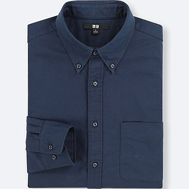 HERREN Oxford regular fit Hemd Lange Ärmel