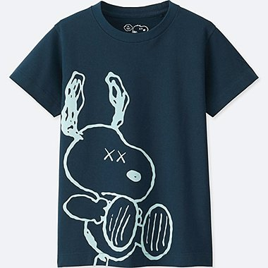 KIDS KAWS X PEANUTS Short Sleeve Graphic T-Shirt