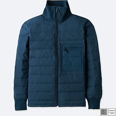 MEN UNIQLO U DOWN TRACK JACKET