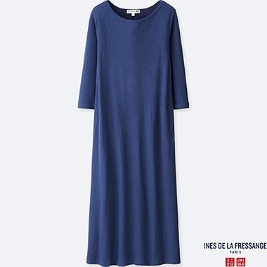 INES - ROBE réversible MANCHES 3/4 FEMME