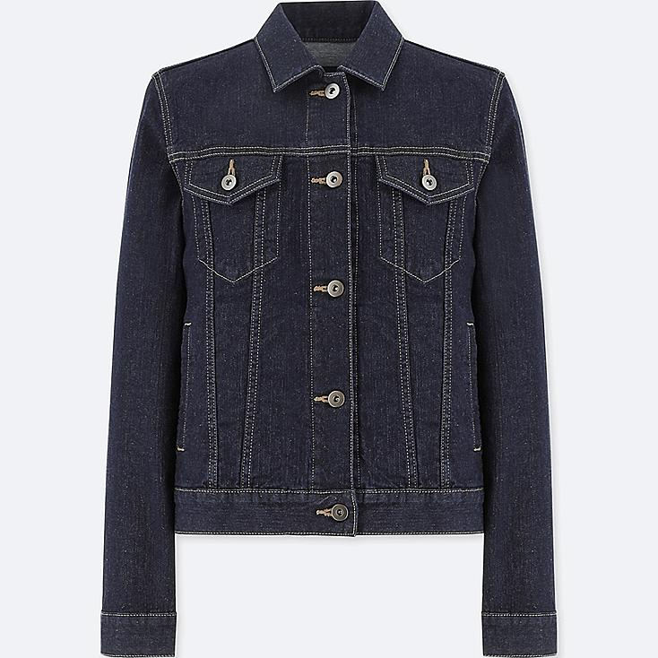 WOMEN DENIM JACKET at UNIQLO in Brooklyn, NY | Tuggl