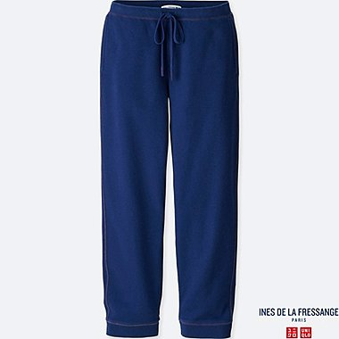 WOMEN INES FRENCH TERRY TROUSERS