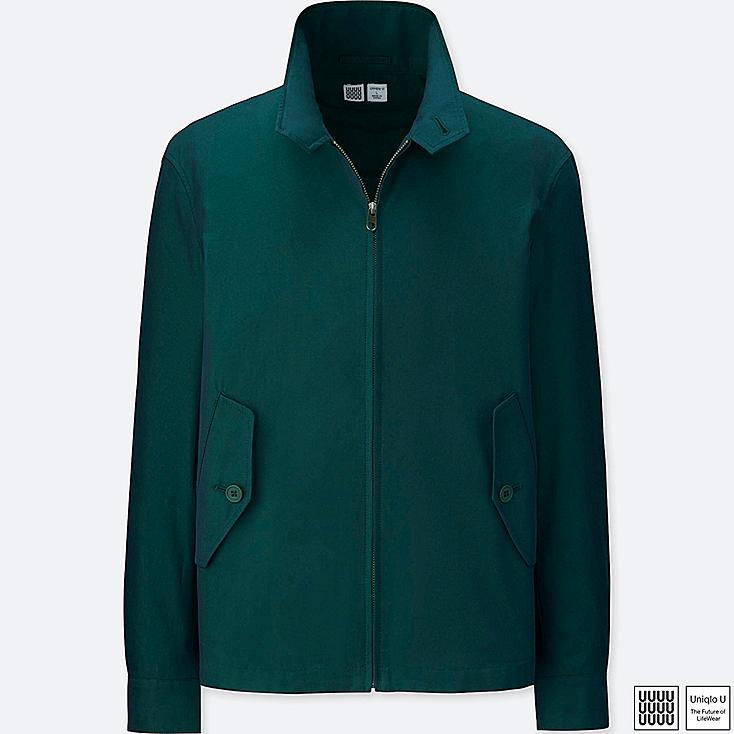 Blue and Green Jackets