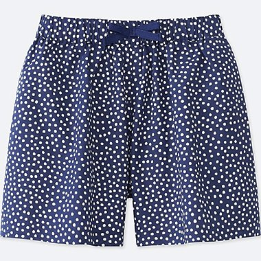 GIRLS EASY FLARE PRINTED SHORTS