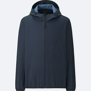 MEN SPRZ NY POCKETABLE PARKA (FRANCOIS MORELLET), BLUE, medium
