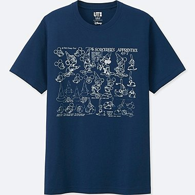 MEN DISNEY FANTASIA COLLECTION GRAPHIC T-SHIRT, BLUE, medium
