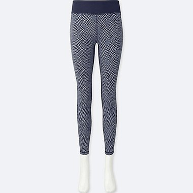 WOMEN SPRZ NY AIRism LEGGINGS (FRANCOIS MORELLET), BLUE, medium