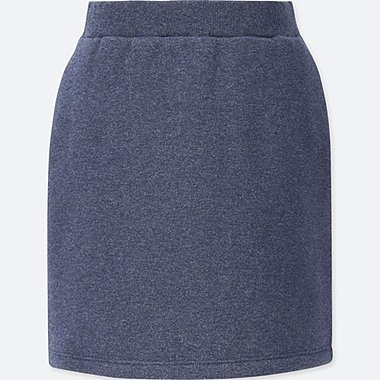 GIRLS PILE LINED SWEAT SKIRT