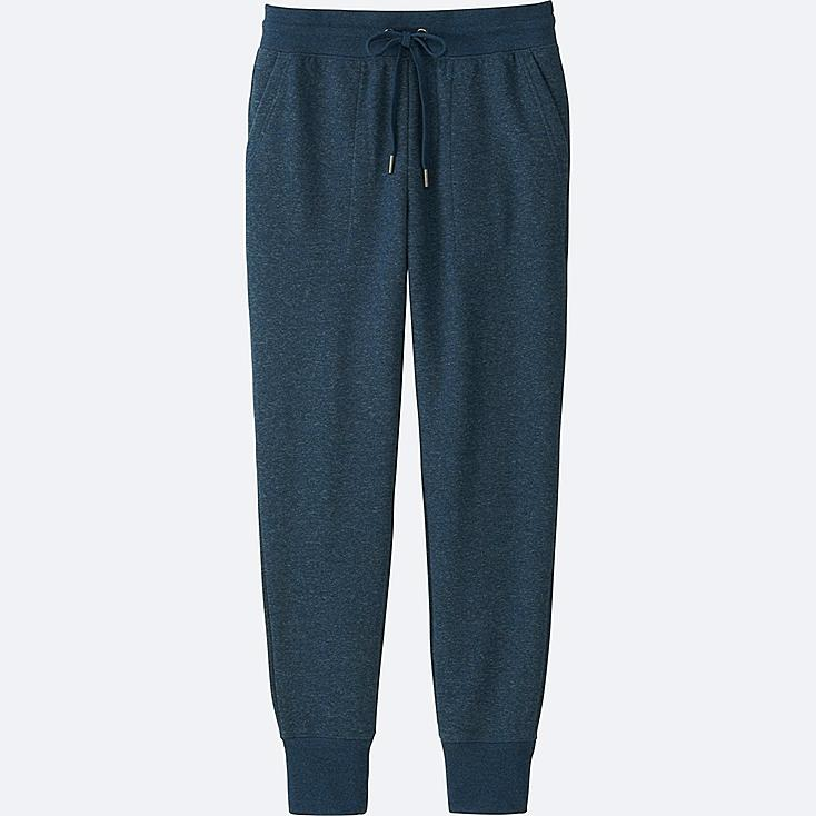 WOMEN SWEATPANTS, BLUE, large