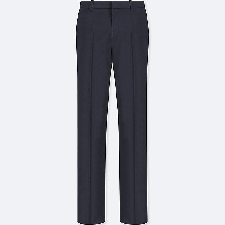 WOMEN STRETCH SET UP PANTS (ONLINE EXCLUSIVE), BLUE, large