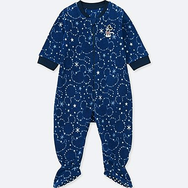 BABIES NEWBORN DISNEY STRETCH MICROFLEECE DISNEY ONE PIECE OUTFIT