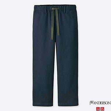 men j.w. anderson relaxed chino flat-front pants