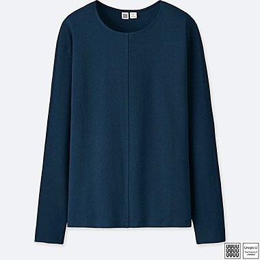 Damen U Langarm-Shirt (Rundhalsausschnitt)