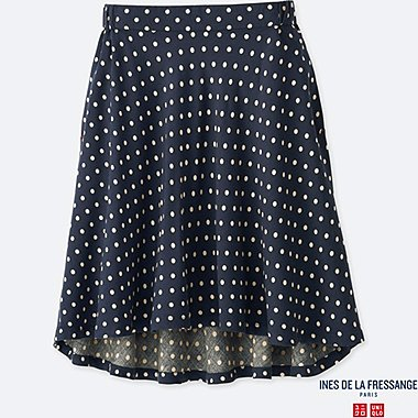 GIRLS INES RAYON FLARED SKIRT