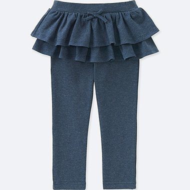 TODDLER FRILL PANTS, BLUE, medium