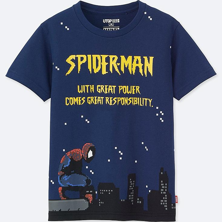 KIDS UTGP MARVEL SHORT-SLEEVE GRAPHIC T-SHIRT (SPIDERMAN) | Tuggl