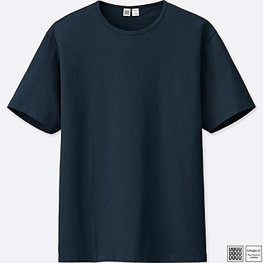 MEN UNIQLO U SUPIMA COTTON CREW NECK T-SHIRT