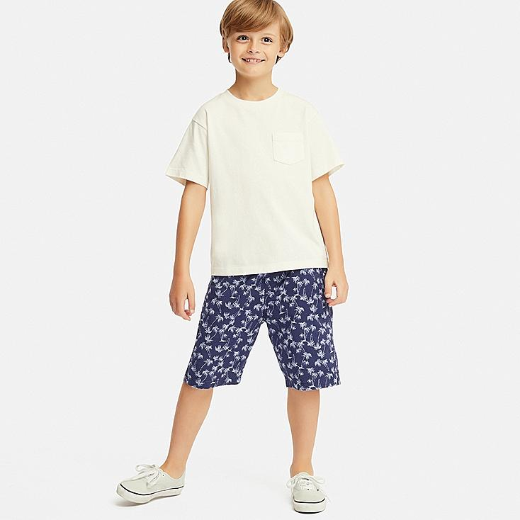 BOYS EASY SHORTS, BLUE, large