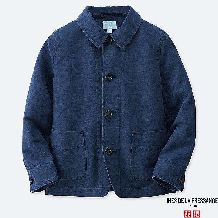 KIDS COVERALL (INES DE LA FRESSANGE), BLUE, large