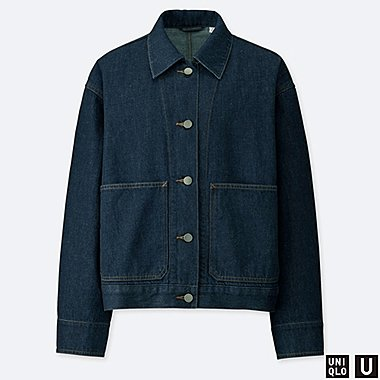WOMEN UNIQLO U DENIM JACKET