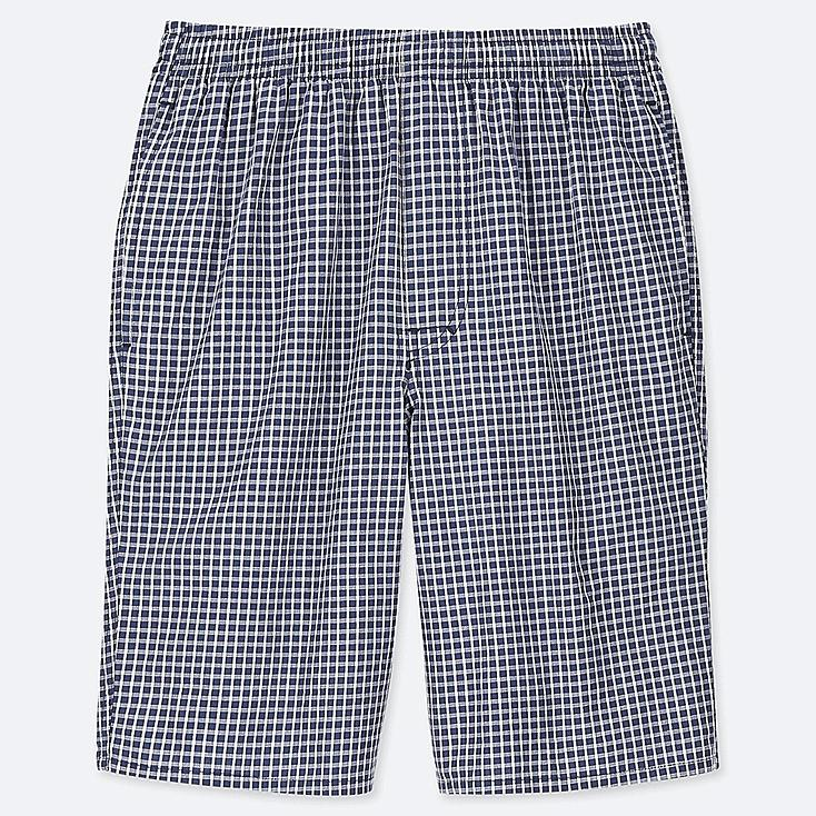MEN LIGHT COTTON EASY SHORTS (ONLINE EXCLUSIVE), BLUE, large