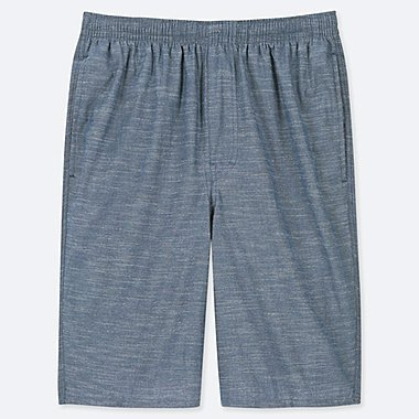 64807041ed8b MEN EASY LIGHT CHAMBRAY COTTON SHORTS. Quick View