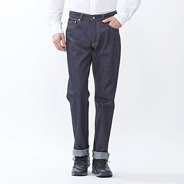 HERREN Regular Fit Straight Selvedge Jeans