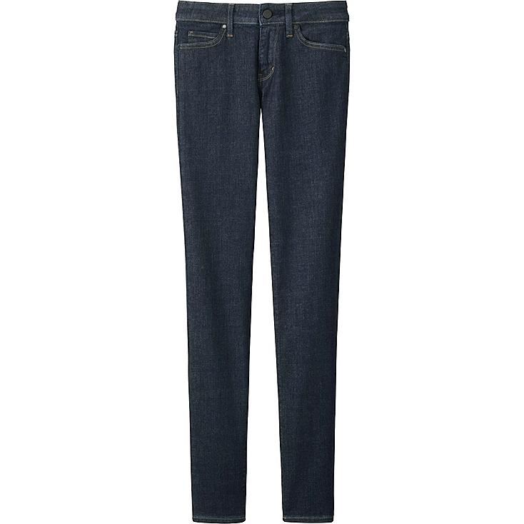 Women's Ultra Stretch Jeans, NAVY, large