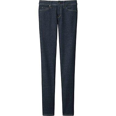 Womens Ultra Stretch Jeans, NAVY, medium