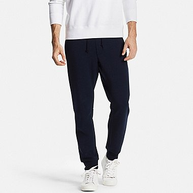 Mens DRY Stretch Sweatpants, NAVY, medium